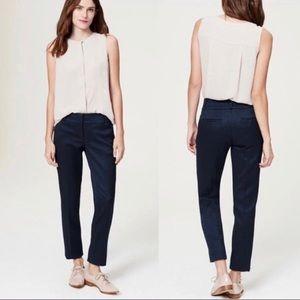 LOFT Marisa Flat Front Dress Pant Trouser Size 8P